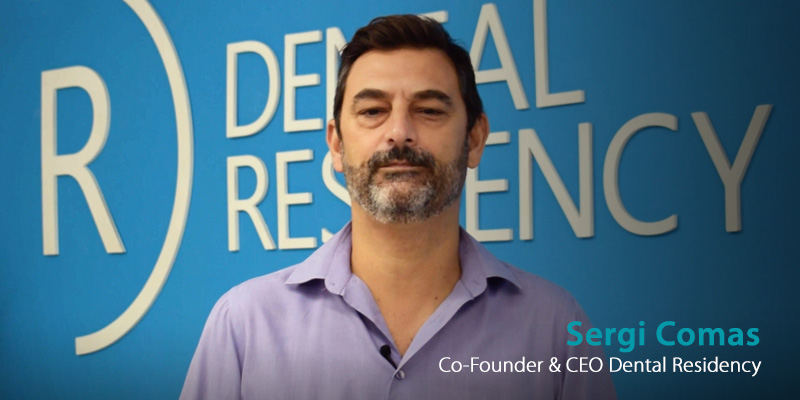 Entrevista a Sergi Comas, fundador de Dental Residency