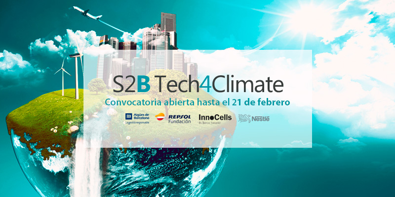 Convocatoria abierta S2B Tech4Climate