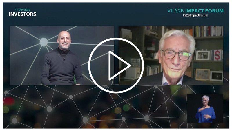 Charla con Sir Ronald Cohen sobre la revolución del impacto