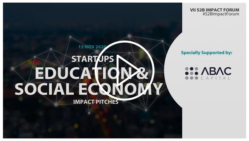 Startups Education and Social Economy