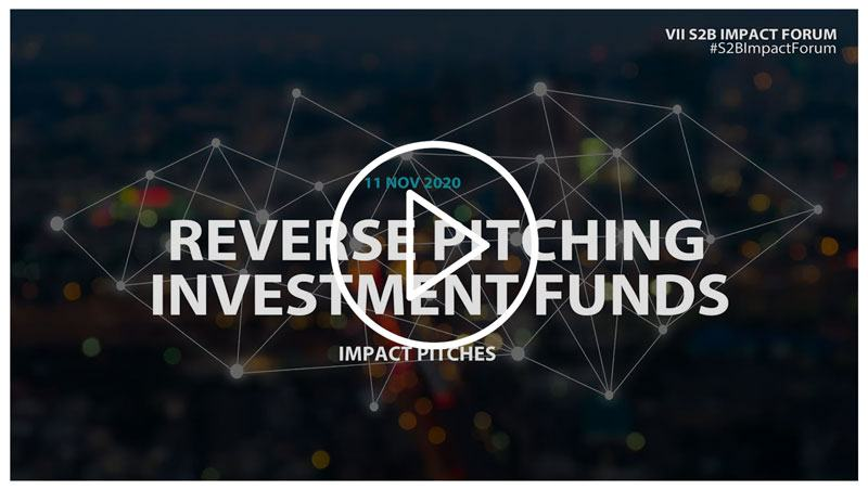Reverse Pitching: Investment Funds